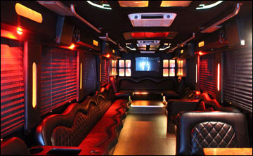 black tie limo and party bus miami